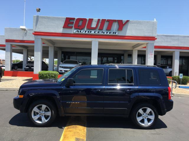 2016 JEEP PATRIOT LATITUDE 4X4 4DR SUV dk blue stability controlphone wireless data link blueto