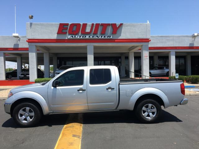 2010 NISSAN FRONTIER SE V6 4X2 4DR CREW CAB LWB PICKU silver stability controlsecurity anti-thef