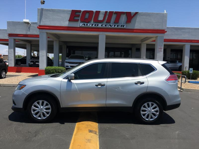 2016 NISSAN ROGUE S 4DR CROSSOVER silver rear view camerarear view monitor in dashsteering whee