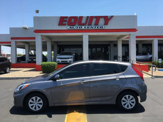 2016 HYUNDAI ACCENT SE 4DR HATCHBACK 6A gray stability controlsecurity remote anti-theft alarm s