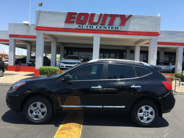 2014 NISSAN ROGUE SELECT S AWD 4DR CROSSOVER black stability controlsecurity remote anti-theft a