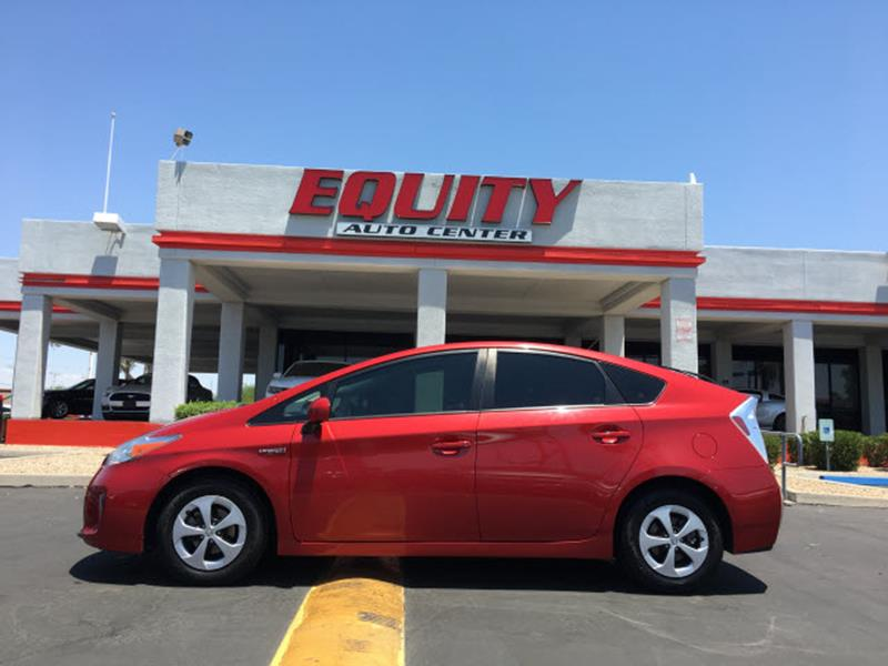 2015 TOYOTA PRIUS TWO 4DR HATCHBACK red rear view camerarear view monitor in dashstability cont
