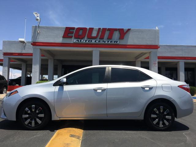 2016 TOYOTA COROLLA L 4DR SEDAN 4A silver phone hands freestability controldriver information s