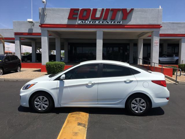 2016 HYUNDAI ACCENT SE 4DR SEDAN 6A white stability controlsecurity remote anti-theft alarm syst