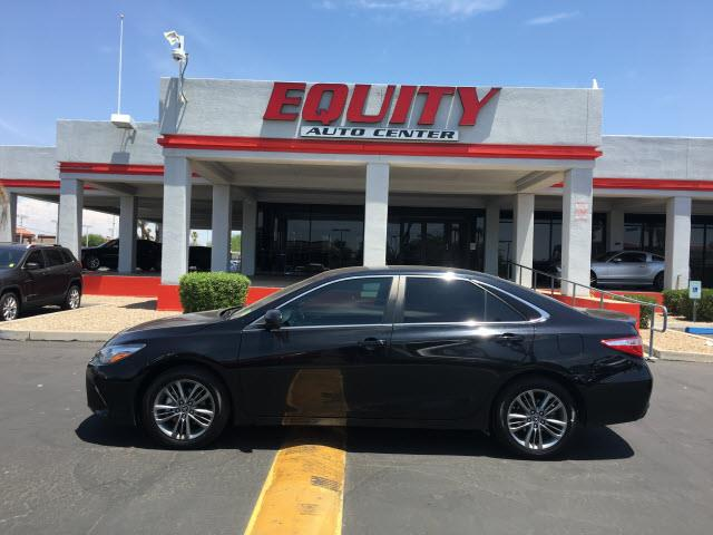 2016 TOYOTA CAMRY LE 4DR SEDAN black rear view camerarear view monitor in dashsteering wheel mo
