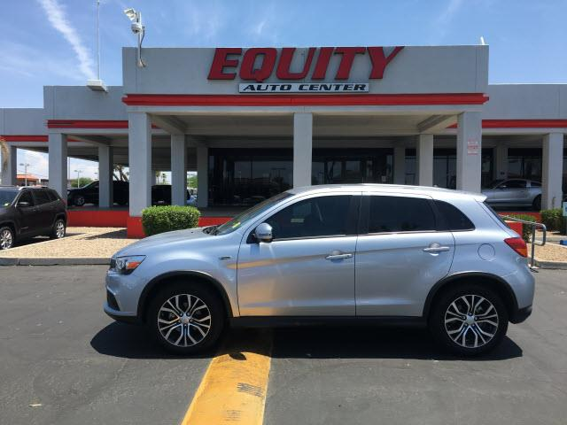 2016 MITSUBISHI OUTLANDER SPORT ES silver steering wheel mounted controls voice recognition contr