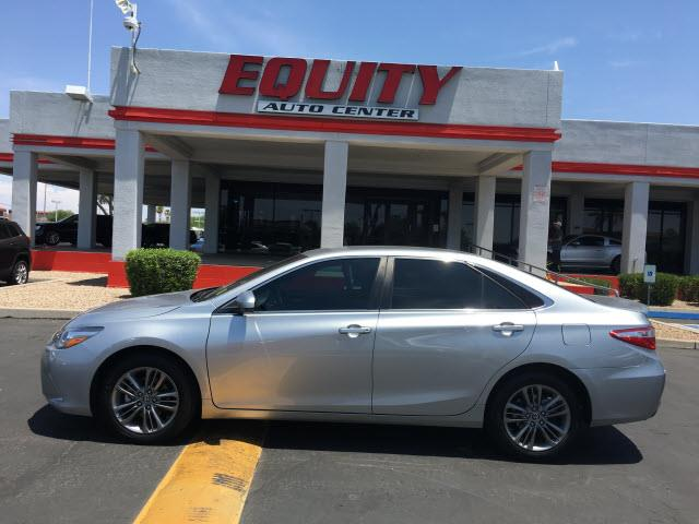 2016 TOYOTA CAMRY LE 4DR SEDAN silver rear view camerarear view monitor in dashsteering wheel m