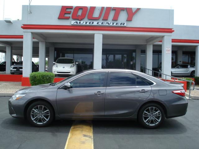 2016 TOYOTA CAMRY LE 4DR SEDAN dk gray rear view camerarear view monitor in dashsteering wheel