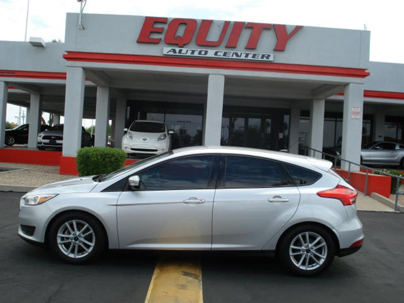 2016 FORD FOCUS SE 4DR HATCHBACK silver rear view camerarear view monitor in dashstability cont