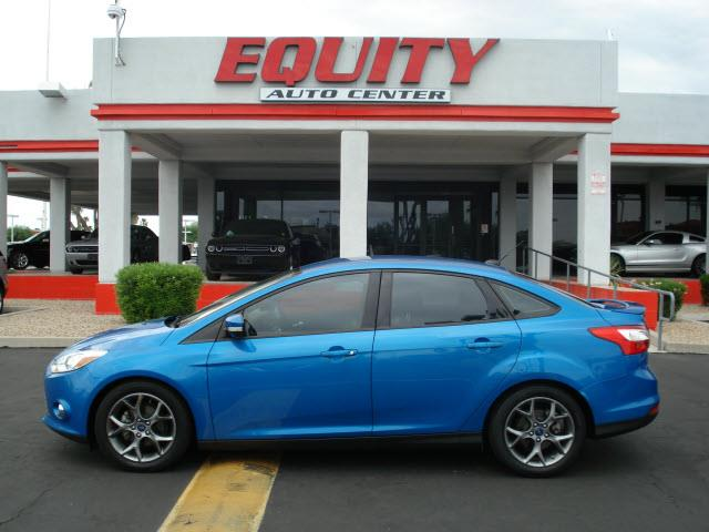 2014 FORD FOCUS blue 59061 miles VIN 1FADP3F23EC111435