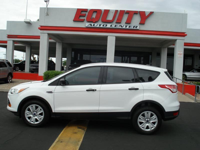 2015 FORD ESCAPE S 4DR SUV white rear view camerarear view monitor in dashsteering wheel mounte