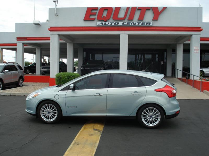 2014 FORD FOCUS ELECTRIC 4DR HATCHBACK blue rear view camerarear view monitor in dashphone voic