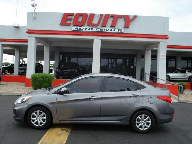 2014 HYUNDAI ACCENT GLS 4DR SEDAN gray stability controlsecurity remote anti-theft alarm system