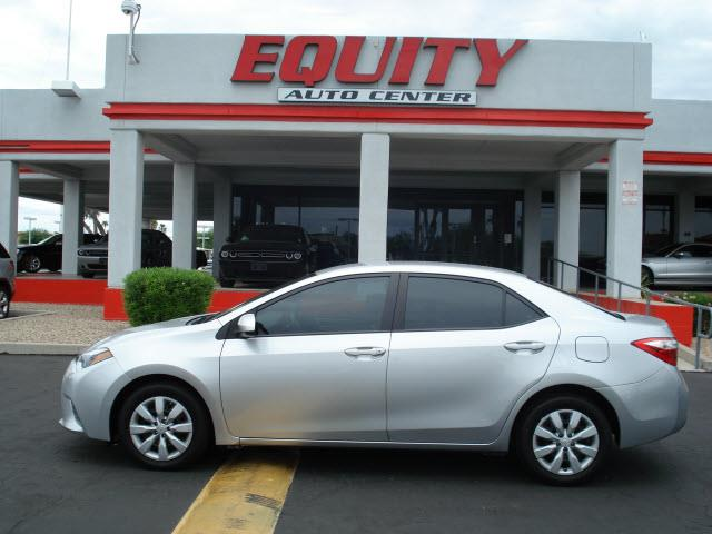 2015 TOYOTA COROLLA L 4DR SEDAN 4A silver rear view camerarear view monitor in dashsteering whe