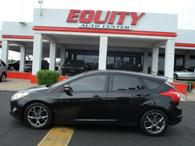 2014 FORD FOCUS SE 4DR HATCHBACK black stability controlsecurity anti-theft alarm systemphone w