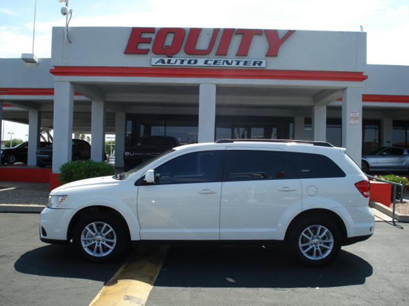 2017 DODGE JOURNEY SXT 4DR SUV white stability controlmulti-function displaycrumple zones front