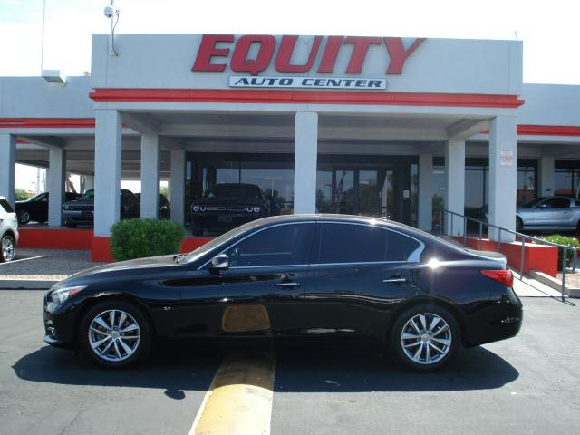 2014 INFINITI Q50 BASE 4DR SEDAN unspecified rear view camerarear view monitor in dashsteering
