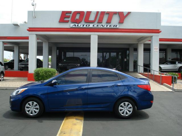 2016 HYUNDAI ACCENT SE 4DR SEDAN 6A blue stability controlsecurity remote anti-theft alarm syste