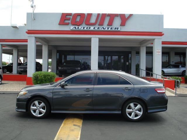 2010 TOYOTA CAMRY SE 4DR SEDAN 6A dk gray stability controlcrumple zones frontcrumple zones re