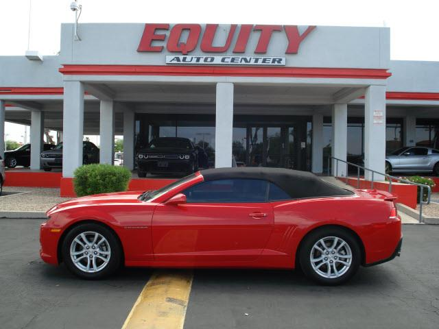 2015 CHEVROLET CAMARO LT 2DR CONVERTIBLE W1LT red rear view camerarear view monitor in dashsta