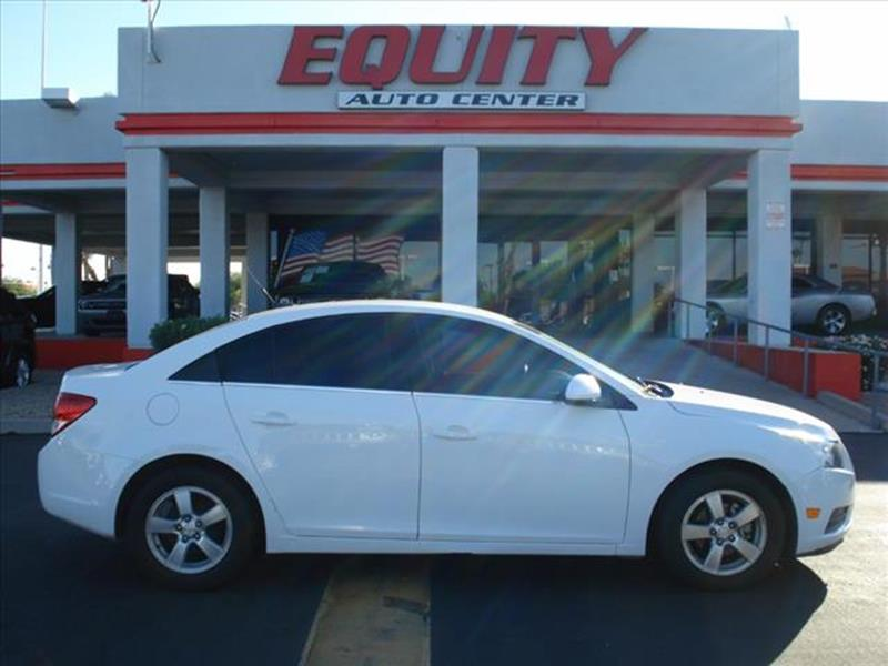 2012 CHEVROLET CRUZE LT 4DR SEDAN W1LT white stability controldriver information systemsecurit