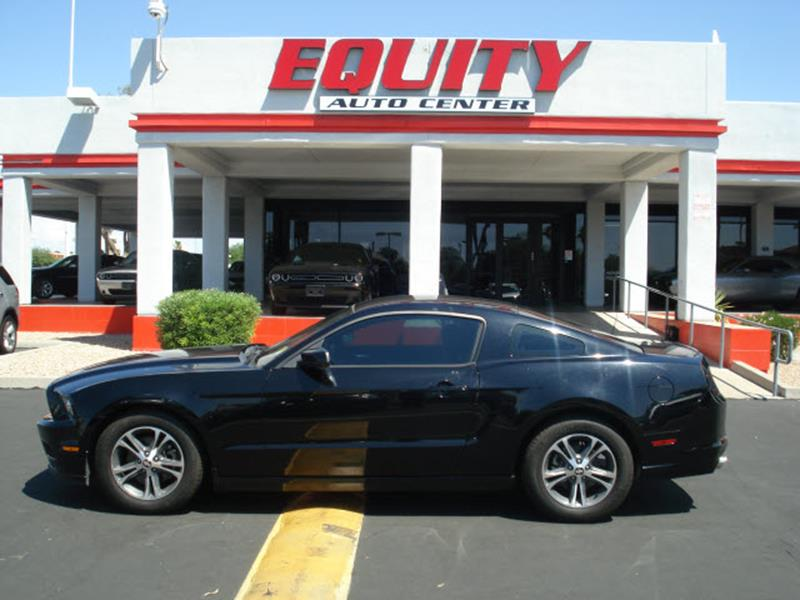 2014 FORD MUSTANG V6 2DR FASTBACK black stability controlsecurity anti-theft alarm systemmulti-