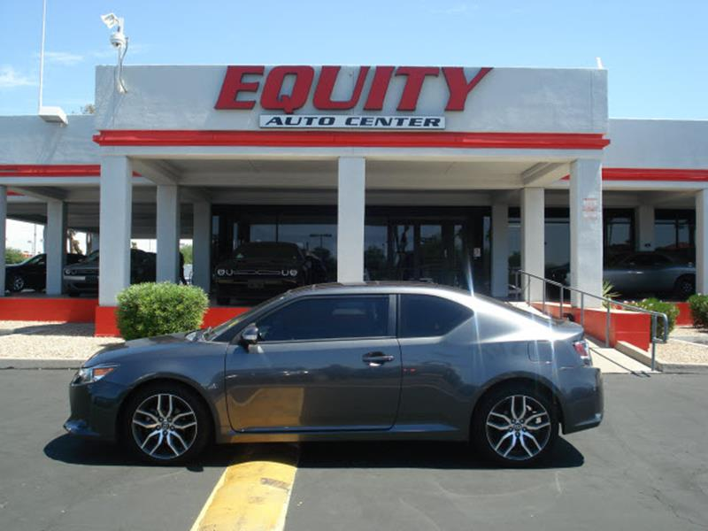 2014 SCION TC BASE 2DR COUPE 6A gray stability controlmulti-function displayphone wireless data