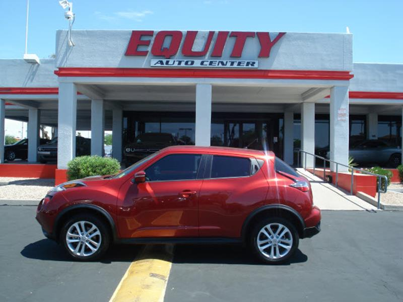 2016 NISSAN JUKE S 4DR CROSSOVER red rear view camerarear view monitor in dashsteering wheel mo