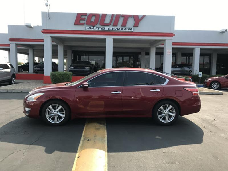 2013 NISSAN ALTIMA 25 S 4DR SEDAN red stability controlsecurity remote anti-theft alarm system