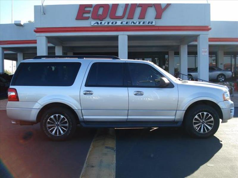 2016 FORD EXPEDITION EL XLT 4X4 4DR SUV silver rear view camerarear view monitor in dashsteerin