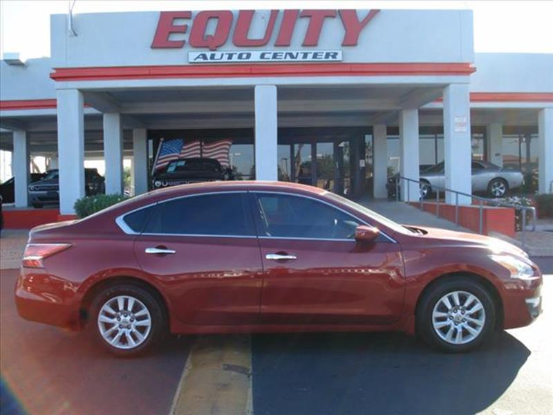 2015 NISSAN ALTIMA 25 S 4DR SEDAN red phone voice activatedstability controlsecurity remote an
