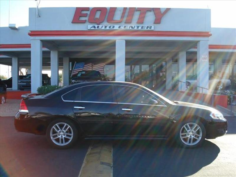 2012 CHEVROLET IMPALA LTZ 4DR SEDAN black stability controldriver information systemsecurity an