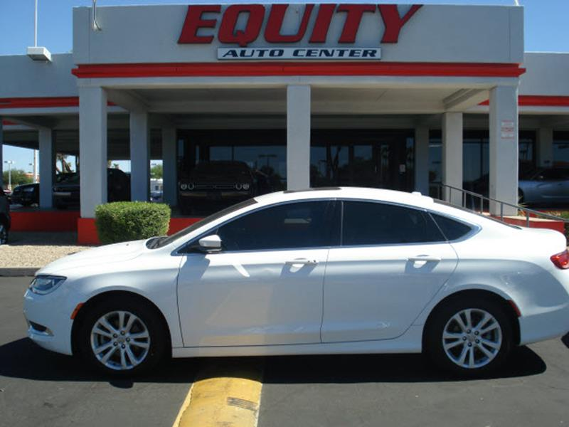 2015 CHRYSLER 200 LIMITED 4DR SEDAN white stability controldriver information systemsecurity an