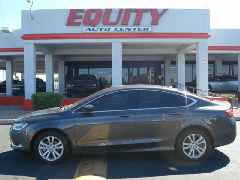 2015 CHRYSLER 200 LIMITED 4DR SEDAN gray stability controldriver information systemsecurity ant