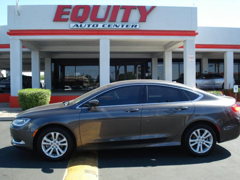 2016 CHRYSLER 200 LIMITED 4DR SEDAN gray rear view camerarear view monitor in dashstability con