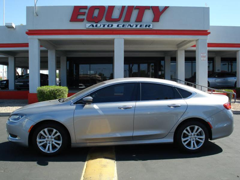 2015 CHRYSLER 200 LIMITED 4DR SEDAN silver stability controldriver information systemsecurity a