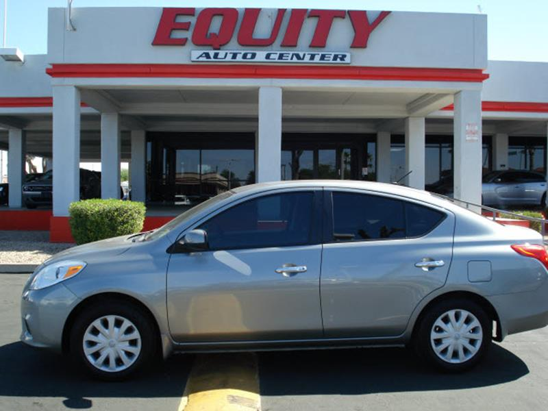 2012 NISSAN VERSA silver stability controlcrumple zones frontcrumple zones rearairbags - front