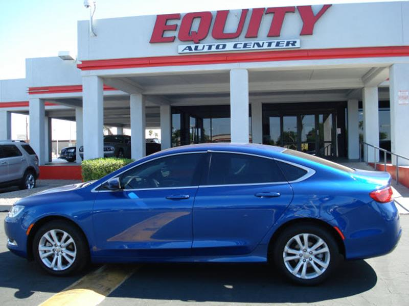 2015 CHRYSLER 200 LIMITED 4DR SEDAN blue stability controldriver information systemsecurity ant