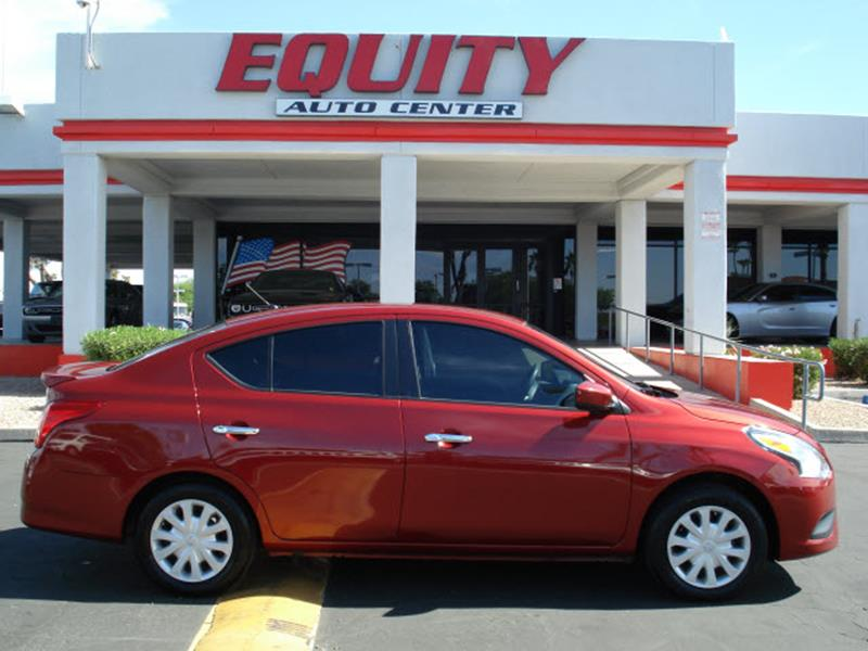 2016 NISSAN VERSA 16 S PLUS 4DR SEDAN red phone hands freestability controlphone wireless data