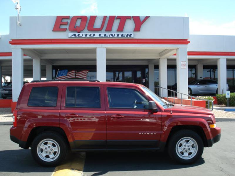 2016 JEEP PATRIOT SPORT 4DR SUV red stability controlphone wireless data link bluetoothcrumple