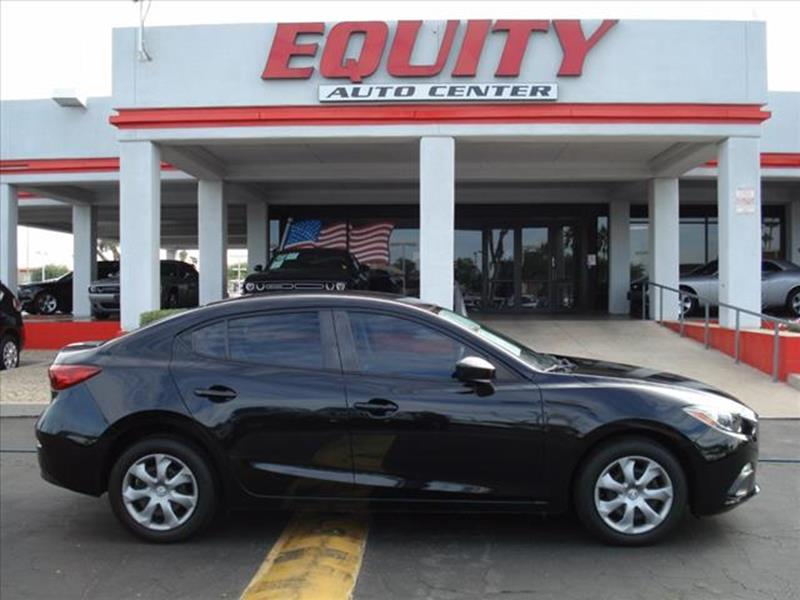 2014 MAZDA MAZDA3 I SPORT 4DR SEDAN 6A black phone hands freestability controlsecurity anti-the