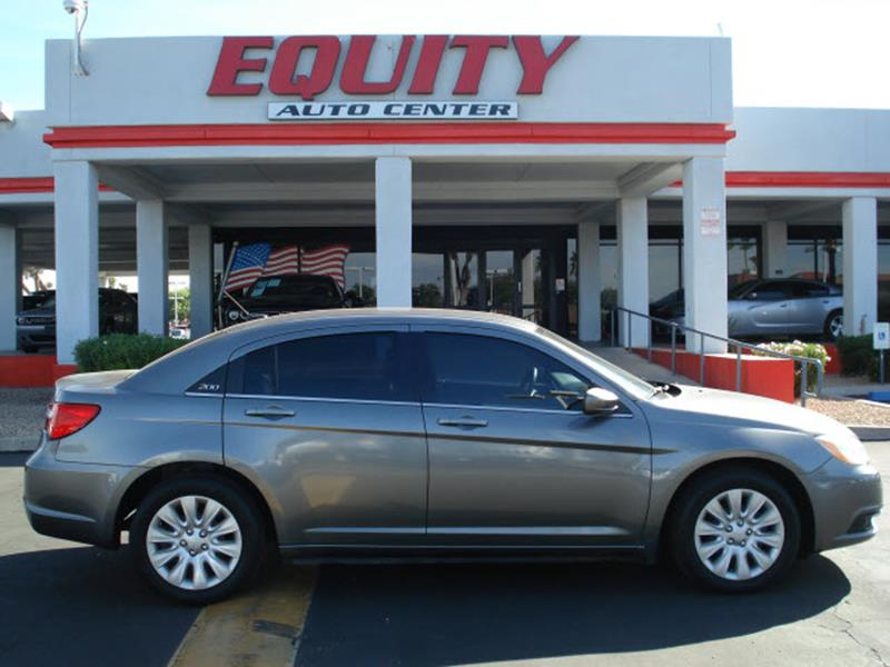2012 CHRYSLER 200 LX 4DR SEDAN dk gray stability controlsecurity anti-theft alarm systemimpact