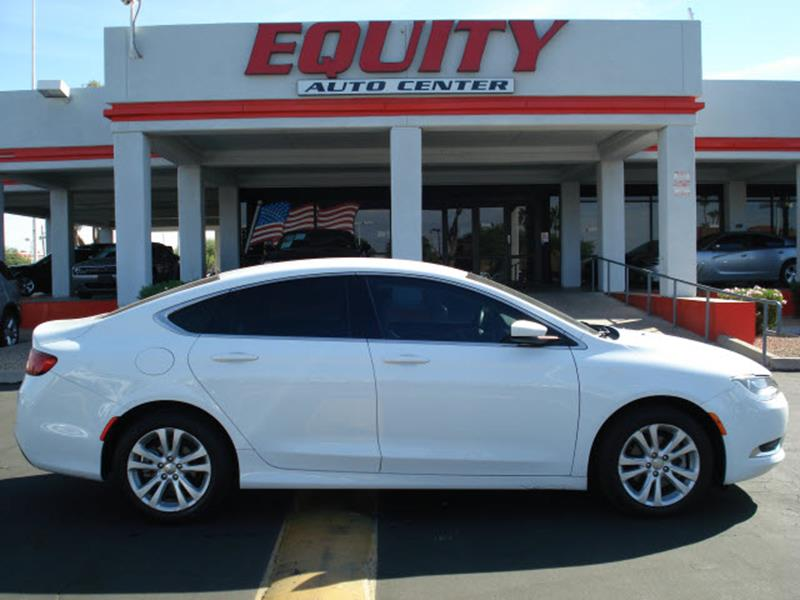 2016 CHRYSLER 200 LIMITED 4DR SEDAN white rear view camerarear view monitor in dashstability co