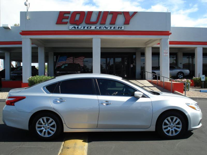 2016 NISSAN ALTIMA 25 4DR SEDAN silver steering wheel mounted controls voice recognition control