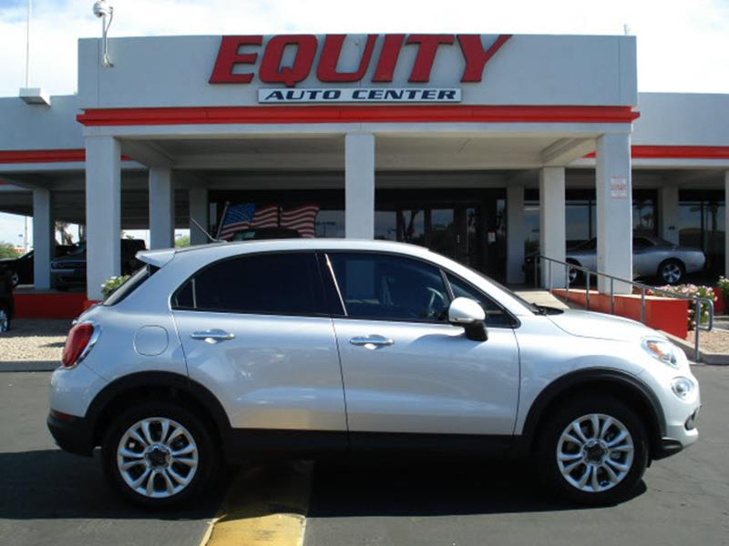 2016 FIAT 500X EASY AWD 4DR CROSSOVER gray steering wheel mounted controls voice recognition cont