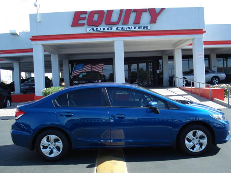 2014 HONDA CIVIC LX 4DR SEDAN CVT blue rear view camerarear view monitor in dashstability contr