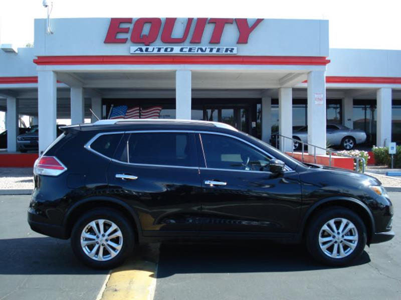 2016 NISSAN ROGUE S AWD 4DR CROSSOVER black rear view camerarear view monitor in dashsteering w