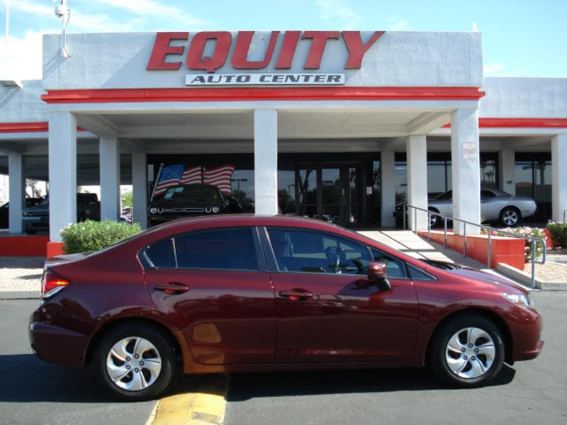 2015 HONDA CIVIC LX 4DR SEDAN CVT dk red rear view camerarear view monitor in dashstability co