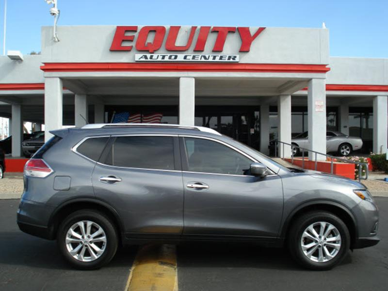 2016 NISSAN ROGUE SV 4DR CROSSOVER gray rear view camerarear view monitor in dashsteering wheel