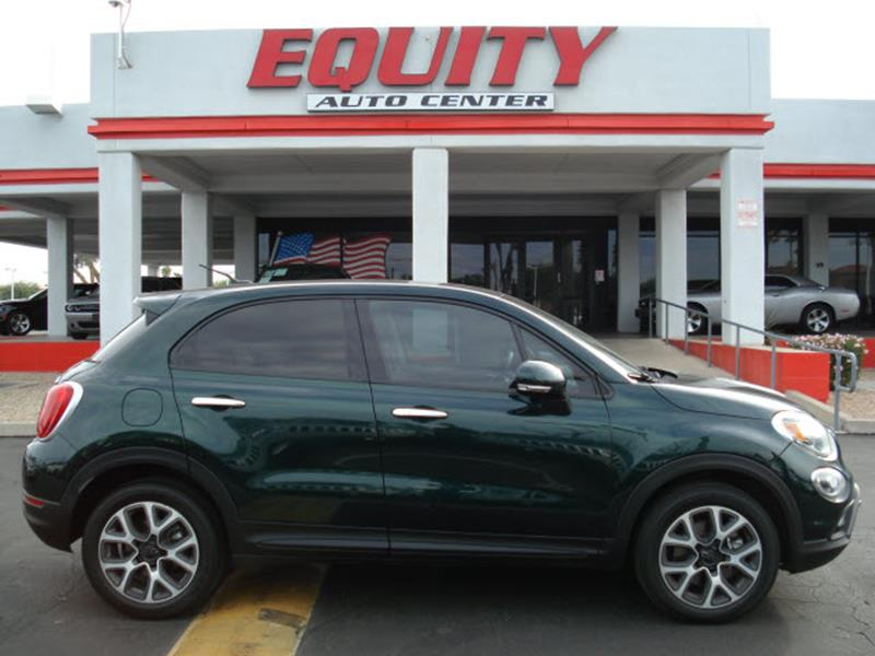 2016 FIAT 500X LOUNGE 4DR CROSSOVER green rear view camerarear view monitor in dashsteering whe